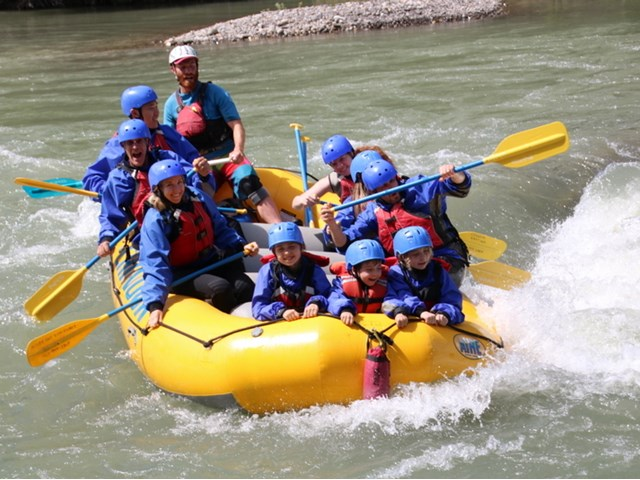 A Family Whitewater Rafting Adventure Alberta Canada