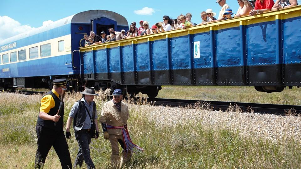 Train Travel   Alberta Canada