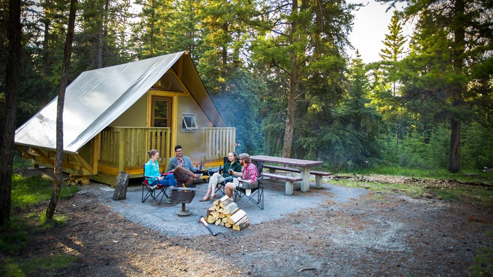 THREE SPOTS TO CAMP WITH KIDS | Alberta Canada